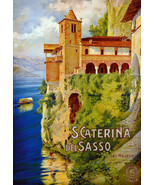 """20x30""""Poster on Canvas.Home Room Interior design.Travel Italy.Caterina.6555 - $60.78"""