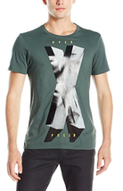 GUESS Men's Xposed Graphic-Print T-Shirt , Foxy Green, Size S, SMRP $29 - $18.80