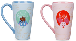 Disney Store Winnie the Pooh or Piglet Tall Lattee Mug 2017 New - $69.95