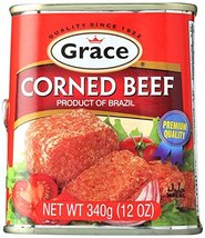 Grace Caribbean Corned Beef Can, 12 oz - $7.91