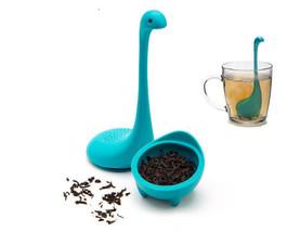 Silicone Tea Strainer Nessie Baby Dinosaur Loch Ness Monster Kitchen Inf... - £4.46 GBP