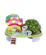 Stay@Home Planting Puzzle: 3D Puzzle with Seeds for Planting (Red radish... - $12.99