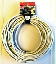 RCA 100' Audio Cable Quad Shield RG-6 Coax Cable - $31.99