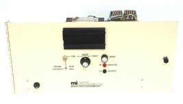 MAGNETIC INSTRUMENTATION INC. MODEL 8650 GAUSSMETER CHASSIS 115V, 1/2 AMP