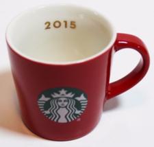 Starbucks 2015 Red 3-Ounce Demi Espresso Cup with Siren Logo NEW IN BOX - $19.89
