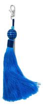 Turquoise Tassle Keychain w/Ball - Handmade in Bali - $14.99