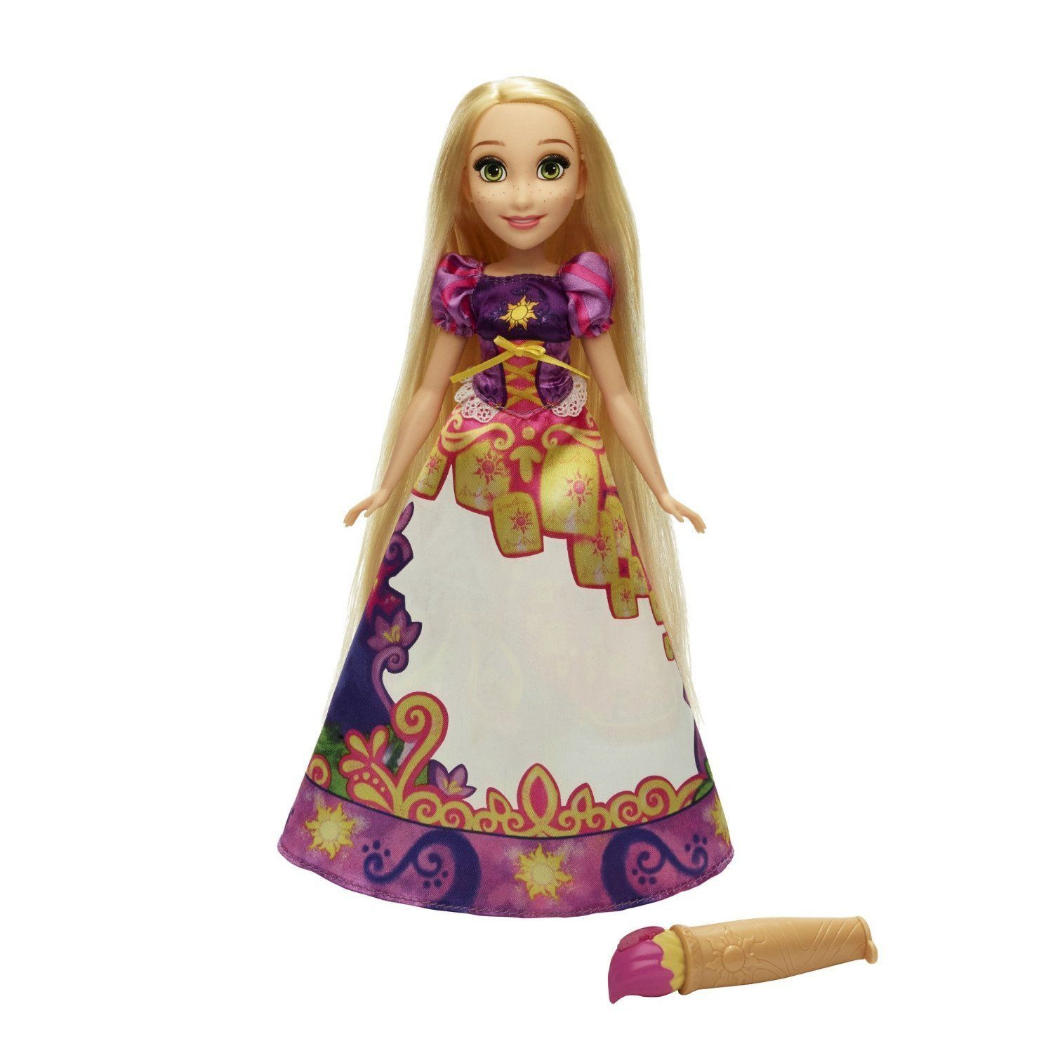 Disney Princess Rapunzel Story Skirt Doll in Pink Purple by Hasbro