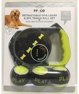 FF & CO Retractable Dog Leash & 3PC Tennis Ball Set - $13.81