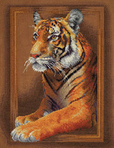 Cross Stitch Kit Panna Regal Tiger - $45.00