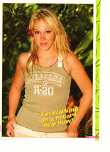 Hilary Duff teen magazine pinup clipping Airborne - $3.50