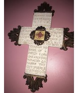 Worship Him Let Us Adore Him Wall Cross - $17.64
