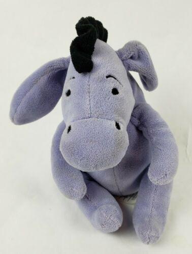 "Disney Winnie The Pooh Eeyore 6"" Plush Donkey Stuffed Animal Jingle Bell"