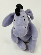"Disney Winnie The Pooh Eeyore 6"" Plush Donkey Stuffed Animal Jingle Bell - $15.72"