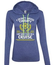 I Don't Therapy I just Need To Go On A Cruise T Shirt, My Life T Shirt (Anvil La - $37.99+