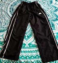 Nike Black & White Lined Athletic Pants With Elastic & Drawstring Waist ... - $14.95