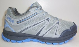 Fila Size 7.5 NORTHAMPTON Grey Light Blue Trail Sneakers New Womens Shoes - $88.11