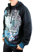 NEW NWT LEVI'S MEN'S PREMIUM CLASSIC COTTON HOODIE JACKET SWEATER GRAPHIC BLACK image 4