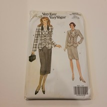 Very Vogue Pattern 8523 Misses Jacket Skirt Size (20 22 24) Cinch Waist ... - $10.69