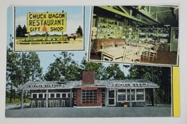 GA Chuck Wagon Restaurant & Gift Shop Sylvania Georgia Postcard Q18 - $6.95