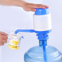 Manual Bottled Drinking Water Hand Press Pump For Home Office Size M - $7.59
