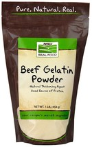 Beef Gelatin, 1 lb by Now Foods - $9.82