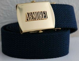 US Army Armored Division Blue Belt & Buckle - $17.81