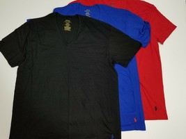 Polo Ralph Lauren - 3 Shirts - Classic Fit  V Neck T Shirts - XL - Multi Colors - $22.28