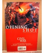 Marvel Comic Civil War: Opening Shot (First printing 2006, Marvel) - $8.99