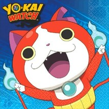 Yo-Kai Watch 16 Luncheon Napkins Birthday Party Yokai - $5.19