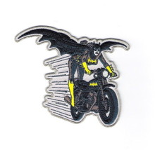 Batman, Batgirl Figure on Her Motorcycle Embroidered Iron On Patch, NEW ... - $7.84