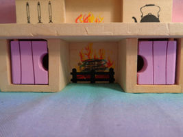 Melissa & Doug Princess Castle Wood Doll Furniture Replacement Kitchen Stove image 6