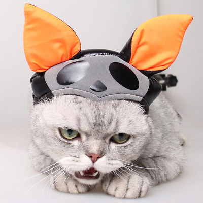 Gomaomi® Scary Funny Cat Halloween Headdress Pet Cat Costume Cosplay