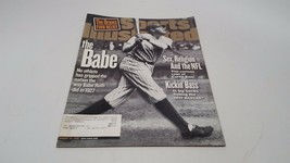 Sports Illustrated BABE RUTH Cover - August 24, 1998 Babe Ruth - $7.61