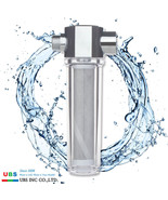 Deluxe Activated Carbon Fiber Shower filter with 2 pcs Water filters UBS... - $65.24