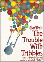 Star Trek Original Series The Trouble With Tribbles Episode Poster Magnet NEW - $4.99