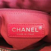 NEW AUTH Chanel 2019 DARK GREEN CHEVRON Calfskin Small Gabrielle Hobo Bag GHW image 8