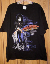 Kiss Paul Stanley T Shirt House Research Institute 2011 - $129.99