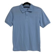 NWT Boy's CHAPS light Blue Approved Schoolwear Polo Shirt L 14/16  - $16.82
