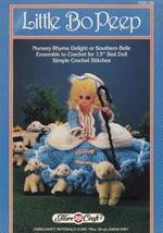 Little Bo Peep, Doll Clothes Fibre Craft Crochet Pattern Booklet FCM148 - $2.95