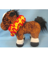 Pet Ruffle Collar Dog Cat Bright Yellow/Red Small Handmade Crochet by Bren - $17.00