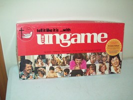 The Ungame board game the game of self expression vintage 1984 Christian... - $19.75