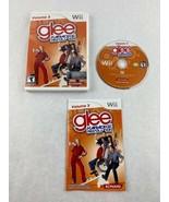 Glee Karaoke Revolution Volume 3 Nintendo Wii Game 2011 Konami with Manual - $5.00