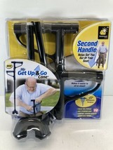 My Get Up & Go Cane The Convenient Two-Handle Walking Cane For Maximum C... - $19.76