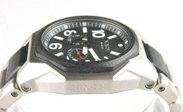 Nixon A397-000 Die Tangent Schwarz & Silber Ton Edelstahl Herren Armbanduhr image 5