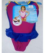 Surf Club Fuchsia & Blue Girls Size Small/Medium Floatation Trainer - $14.99