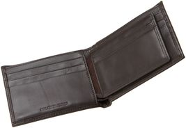 Calvin Klein Ck Men's Leather Bifold Id Wallet Key Chain Set Rfid 79220 image 4