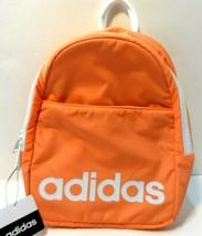 Adidas Core Mini Backpack Light Coral/Orange White New Mens Womens Bag  - $22.23