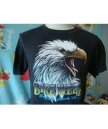 Vintage 80's Harley Davidson 3D Emblem 1986 Daytona Bike Week T Shirt M  - $395.99
