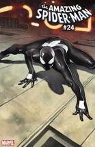AMAZING SPIDER-MAN #24 COIPEL SPIDER-MAN SYMBIOTE SUIT  est rel date 06/... - $6.99