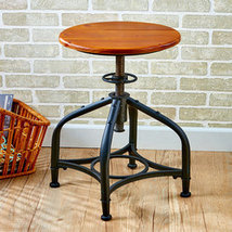 The Lakeside Collection Adjustable Height Stool Black - $70.27